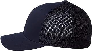 Yupoong 6511 Flexfit 6-Panel Trucker Cap OS Dark Navy