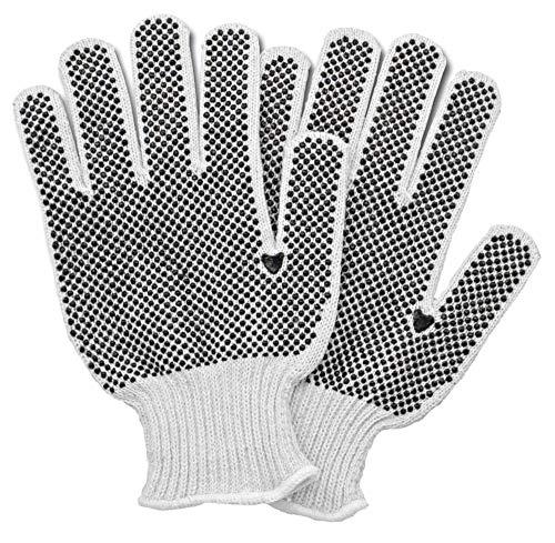 12 Pack Single Side Dot gloves 9