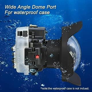 Sea frogs 防水 魚眼レンズ 6'' レンズ 広角レンズ キャノンEOS M3 ケース用 11-22mm /22mm /18-55mm レンズ対応 カメラレンズキット 防水性能40m 水中撮影用 国際防水等級IPX8 簡単装着