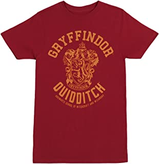 Gryffindor Quidditch Adult T-Shirt Red