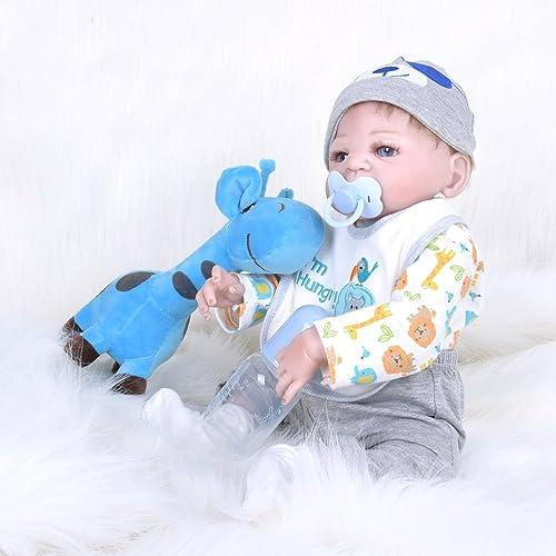 Silikon Vinyl Reborn Babypuppe Realistische mädchen Babys Puppen 23 Zoll 55cm Lebensechte Prinzessin Kinder Spielzeug Kinder Geburtstagsgeschenk