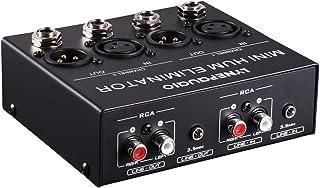 Homyl Eliminador de Soma de áudio Estéreo de Canal Caixa de Limpeza de Ruído Zumbido de Corrente