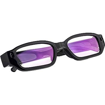 Z Ha Intelligent Action Camera Glasses 1080p Hd Video Camera Spy Shot Portable Camera Myopia Video Camera Glasses Flat Reading Glasses Video Glasses Sport Driving Recorder Sport Freizeit