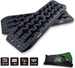 STEGODON New Recovery Traction Tracks with Bag(Set of 2), Recovery Traction Mats Sand Snow Mud Track Off Road Tire Ladder ...