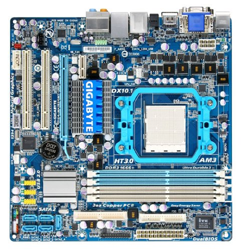 gigabyte ga ma785gmt ud2h mainboard