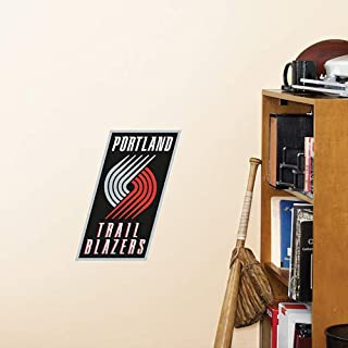 Portland Trail Blazers Fathead Team Logo NBA Official Vinyl Wall Graphic