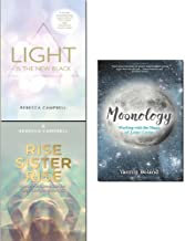 Light is the new black, rise sister rise and moonology 3 books collection set