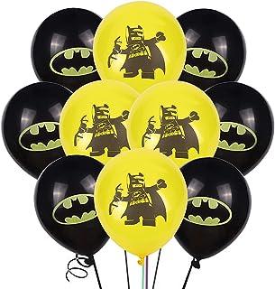 Super Hero decoration Anniversaire , décorations de fête de super-héros,Batman Ballons,Enfants Ballon AnniversaireParty en...
