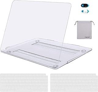 MOSISO Funda Dura Compatible con 2020-2018 MacBook Air 13 A2337 M1 A2179 A1932 Retina, Plástico Carcasa Rígida&1 España ñ/...