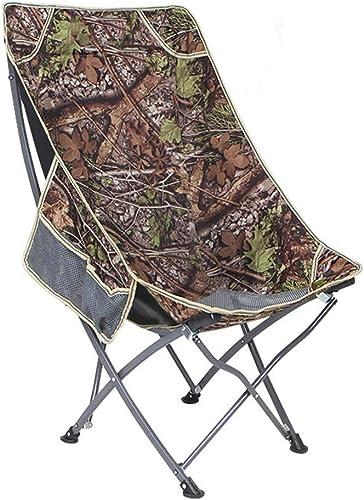 Hxx Chaise de Camping Pliante, siège de Pique-Nique en Mesh portatif avec Poches latérales,D