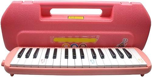 Aszhdfihas-ms Kids Musical Melodica Toys 32 Tasten Mit Tragbaren Tragetasche MundStücke Rohr Sets Instrument Geschenk Für Musikliebhaber Anf er Luftklaviertastatur für Musikliebhaber Anf er