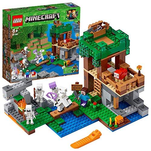 LEGOMinecraft Die Skelette kommen! (21146) Minecraft Minifiguren und Spielzeug für Kinder