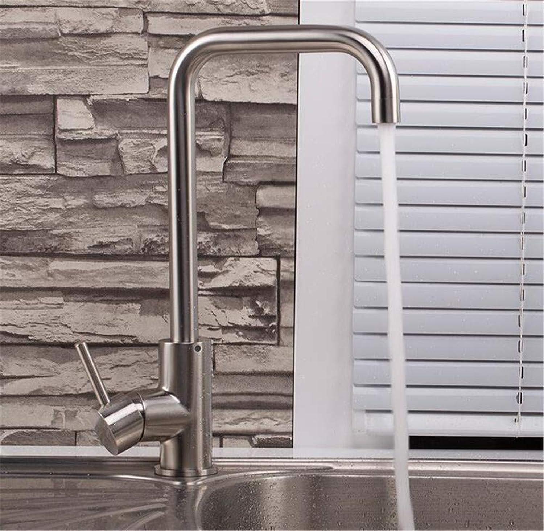 Willsego Wasserhahn Küchenmixer 304 Edelstahl Kalte Küchenarmatur Blei (Farbe   -, Gre   -)