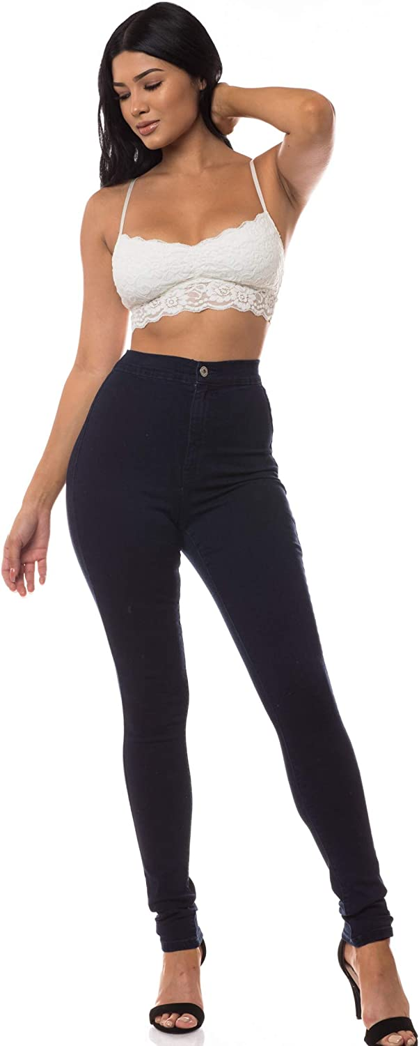 Aphrodite Sale High Max 74% OFF Waisted Jeans for Stretch Rise - Women Basic