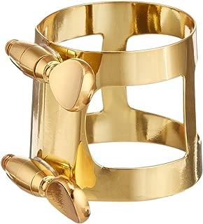 Yamaha YAC 1617 Gold Lacquer Baritone Saxophone Ligature (YAC-1617)