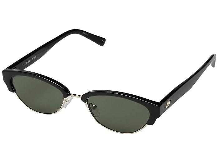 Le Specs Squadron (Black) Fashion Sunglasses