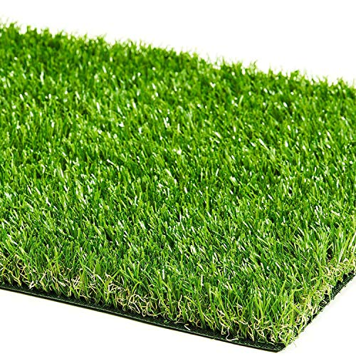 ZGR Artificial Garden Grass 5' x 8' (40 Square ft) Fake Grass, Dog Potty Grass, So ft Pet Turf Grass Mat, Non Toxic, Thick Lawn Puppy Potty Training, Dog Mat Pad, Perfect for Indoor/Outdoor Landscape