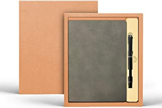 Executive Leather Office Notebook/Journal Premium Paper with Executive Pen, Great as a Gift