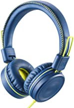 POWMEE M1 Kids Headphones Wired Headphone for Kids,Foldable Adjustable Stereo..