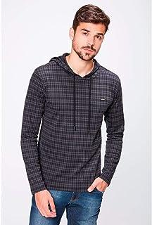 6f12096e3d Camiseta Manga Longa Com Capuz Masculina
