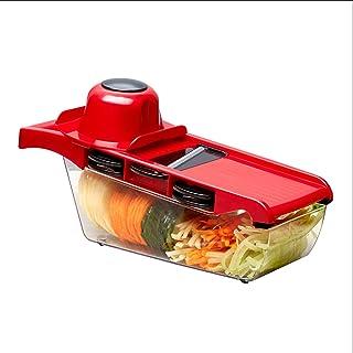 Broyeur de pommes de terre domestique, fournitures de cuisine, coupe-légumes multifonction, râpe à tranches de pommes de t...