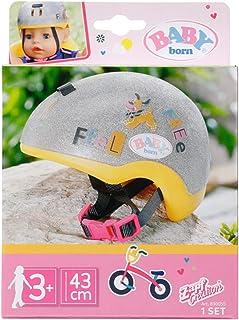 Baby born Fietshelm voor Poppen van 43cm - Superveilig - Ideaal voor Kinderhandjes, Bevordert Creativiteit, Empathie & Soc...