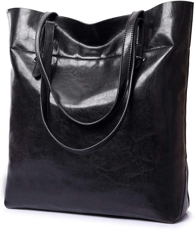 LQQAZY Handtasche Schultertasche Ölbeutel Große Kapazität Tasche B07H3ZCNXV  Einfach