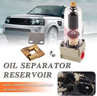Ruien Engine Baffled Oil Separator Catch Reservoir Tank Compressed Air Filter Automatic Drain