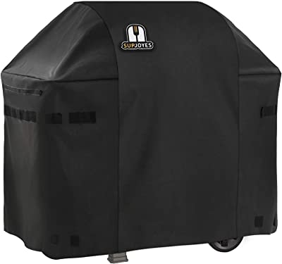 SUPJOYES Gas Grill Cover for Weber Spirit II 210, 48 Inch BBQ Grill Cover, Heavy Duty Waterproof Barbecue Grill Covers
