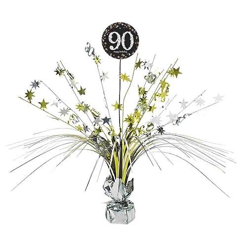 90th Birthday Spray Centrepiece Table Decoration