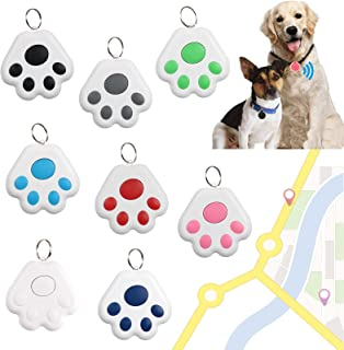 $31 » GPS Tracker for KidsKey Finder Anti-Lost Alarm Device Dog Paw Style Mini Pet GPS Tracking Locator Portable Bluetooth Find...