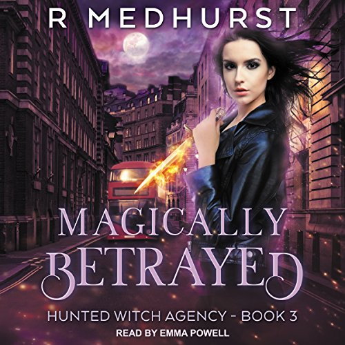 Magically Betrayed audiobook cover art