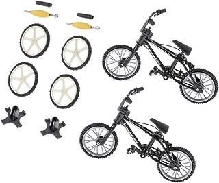 Sharplace 2X Juguete de Bicicleta de Montaña de Simulación en Miniatura Juego de Diversión para Niños