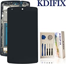 KDIFIX for LG Google Nexus 5 D820 D821 LCD Touch Screen Assembly + Frame with Full Professional Repair Tools kit (Black)