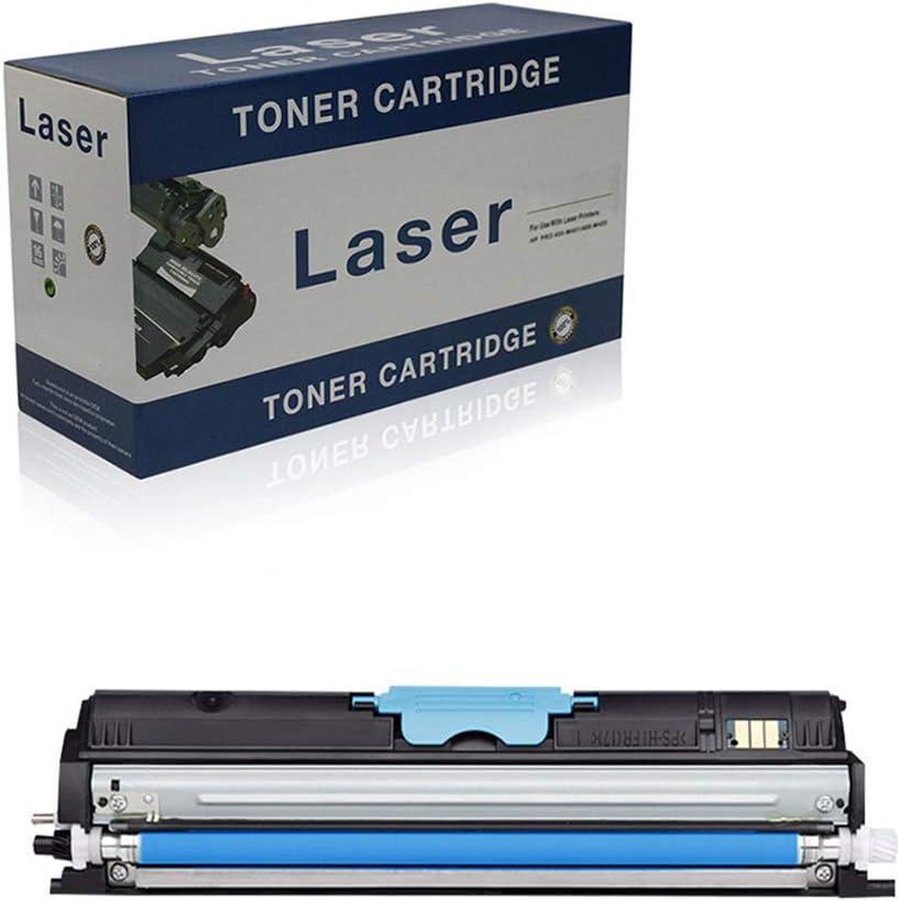 Compatible Toner Cartridges Replacement for Konica Minolta 2400W for Use with Konica Minolta Bizhub 2400W 2430DI 2450 2480MF Printer,Cyan