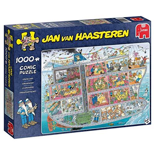 Jumbo 20021 Cruise Ship Piece Jigsaw Jan Van Haasteren-Kreuzfahrtschiff Puzzle 1000 Teile