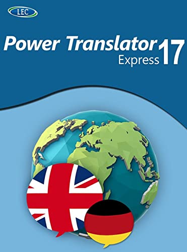 Power Translator 17 Express Deutsch-Englisch: Der komfortable Übersetzer für den Desktop! Windows 10|8|7 [Online Code]