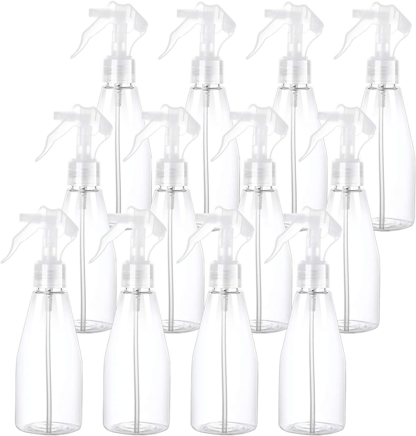 Feeding Elcoho 4 Pieces 200 ml Spray Bottles Empty Bottles Plastic Bottles Trigger Sprayer for Cleaning Gardening