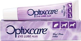 OptixCare Pet Eye Lube Plus + Hyaluron 20g برای اسبهای گربه سگ