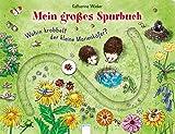 Wohin krabbelt der kleine Marienkäfer?: Mein großes Spurbuch
