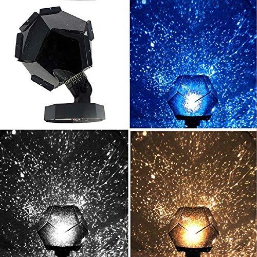 Luz de proyector de cielo estrellado de quinta generación, proyector de planetario estrellado romántico Luz de cielo nocturno DIY montado en el escritorio de la casa Dormitorio