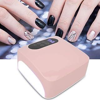 Nannday Lámpara de uñas UV LED, Lámpara de uñas LED Profesional 72W Secador de Esmalte de uñas de Gel Máquina de Arte de uñas de Secado rápido Accesorios de Herramientas de manicura 100-240V(2#)
