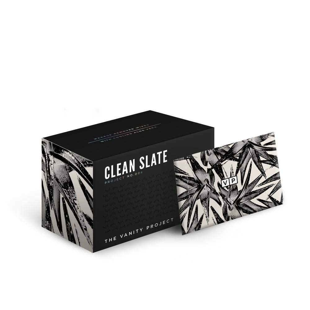 The Vanity Project Clean Slate Ranking TOP3 Wipes Hydrating Remover Las Vegas Mall - Makeup