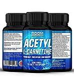 Acetil L-Carnitina 500mg | Tabletas fuertes de acetil-carnitina | 120 potentes cápsulas de refuerzo energético | Dosis para 4 meses COMPLETOS | Mejora tu rendimiento...