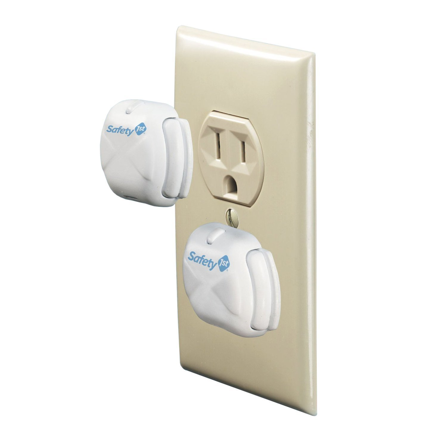 Safety 1st Deluxe Press Fit Outlet Plugs, 30-Count