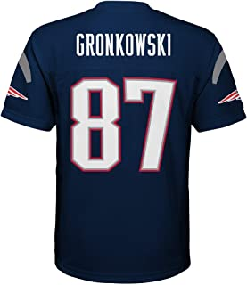 Rob Gronkowski New England Patriots NFL Youth Navy Home Mid-Tier Jersey