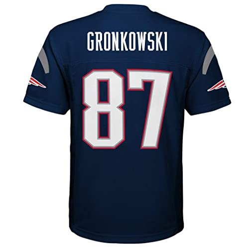c414df20 Rob Gronkowski New England Patriots NFL Youth Navy Home Mid-Tier Jersey