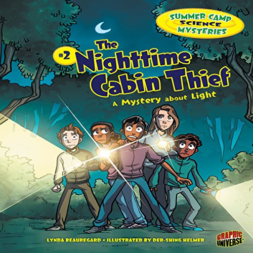 The Nighttime Cabin Thief audiobook cover art
