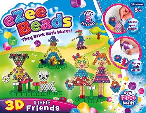 John Adams 10443 Ezee Beads - Juego de Cuentas 3D para pequeños Amigos