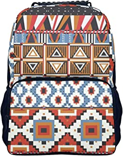 HAPPYCAT Fringe Ladies Backpack for Women Casual Waterproof Durable Kids Daypack Bookbag for Girls/Boys/Kids Holds 14 Laptop white onesize
